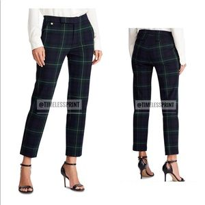 Ralph Lauren Blue/Green/Yellow/Black Plaid Pants